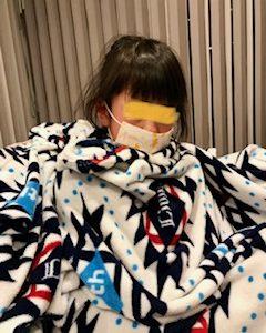 我が家にもインフルエンザ